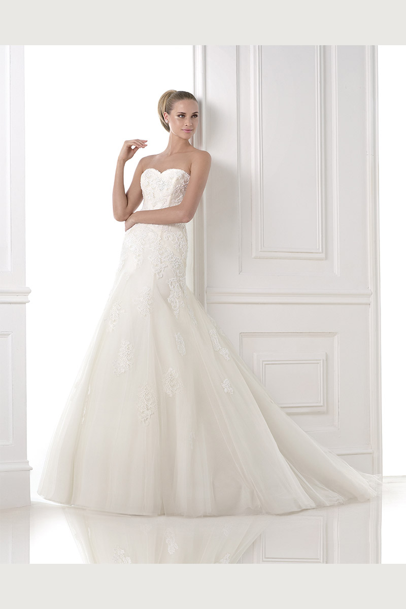 bliss bridal salon carries pronovias bridal gowns fort worth texas