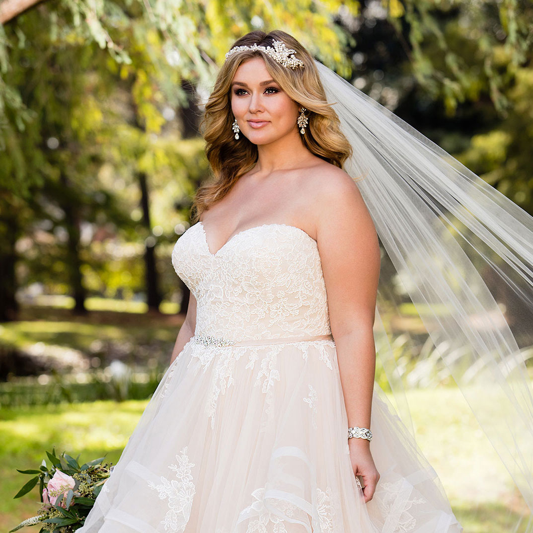 Wedding Hair For Plus Size Brides Wedding Ideas