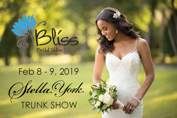 Stella York Trunk Show February 2019